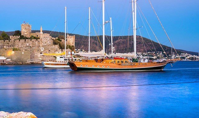 Blue Cruise Routes in Turkey