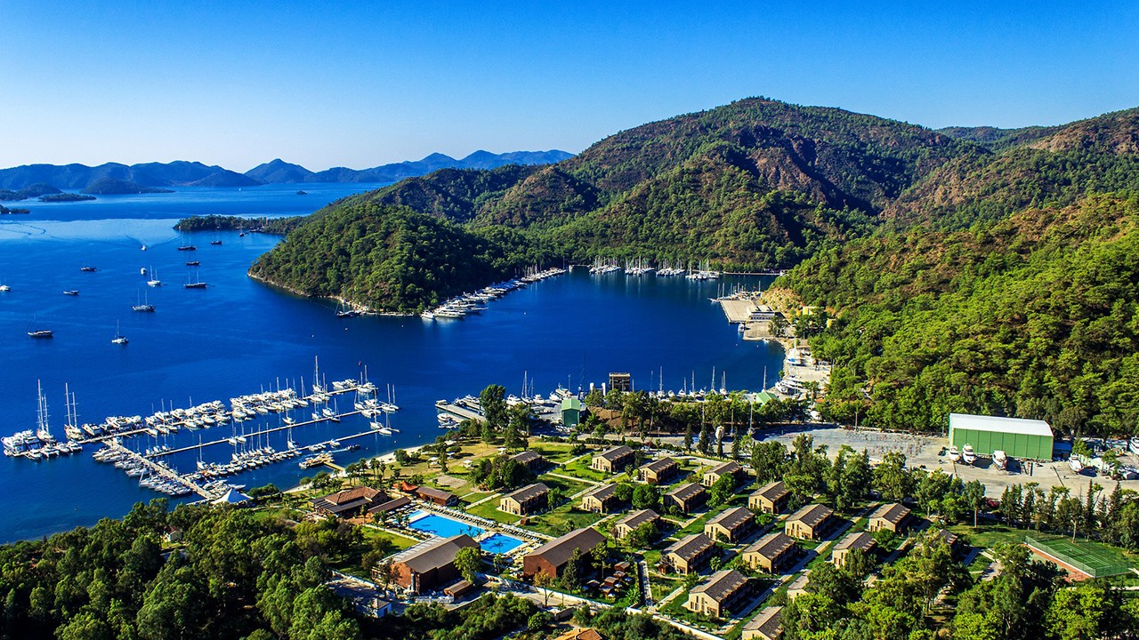 Cruising in Gocek Bays