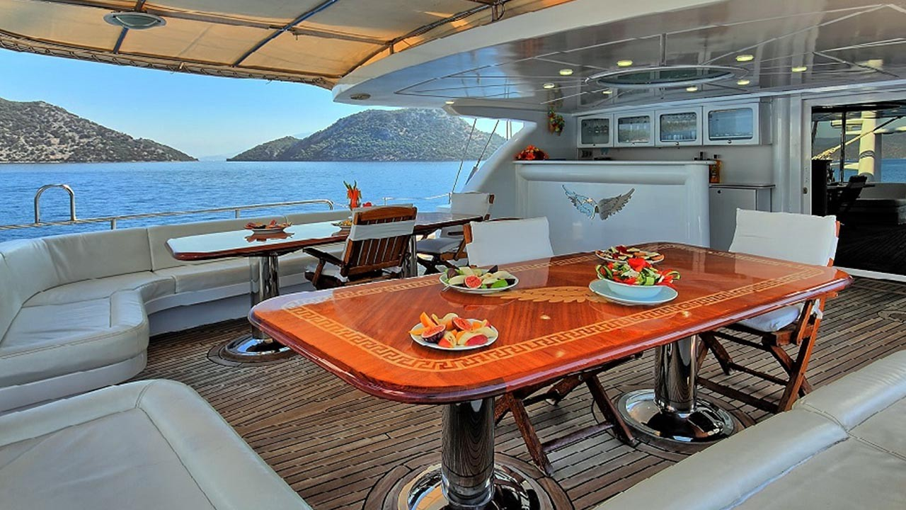 Angelo 2 Yacht For Charter In Turkey Greek Islands Sailing Yacht Angelo 2