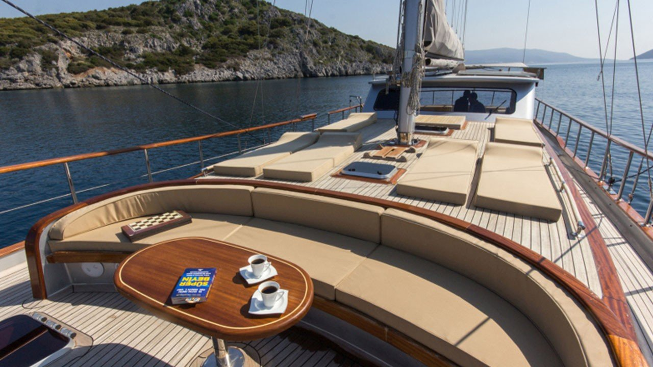 Azra Can Yacht For Charter In Turkey Greek Islands Gulet Azra Can