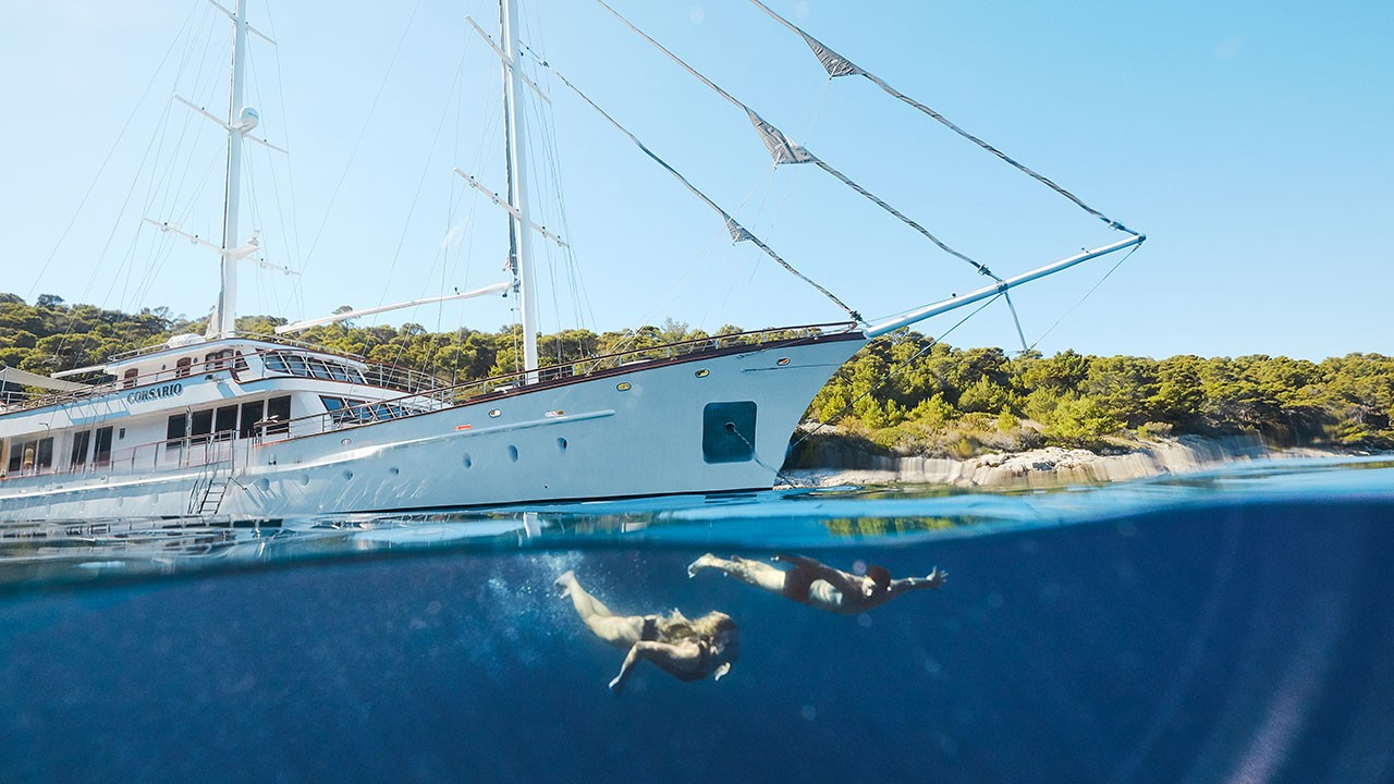 Corsario Yacht For Charter In Croatia Sailing Yacht Corsario In Croatia
