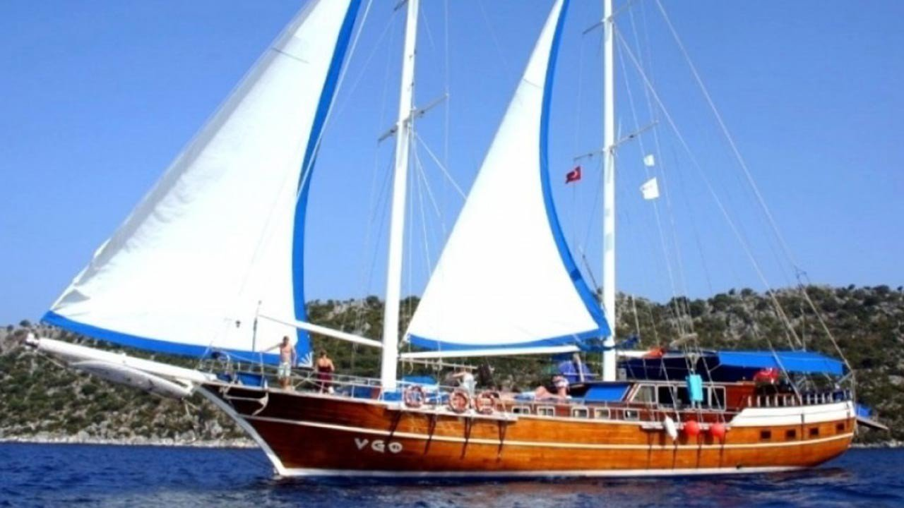 V Go Yacht For Charter In Turkey And Greek Islands Gulet V Go