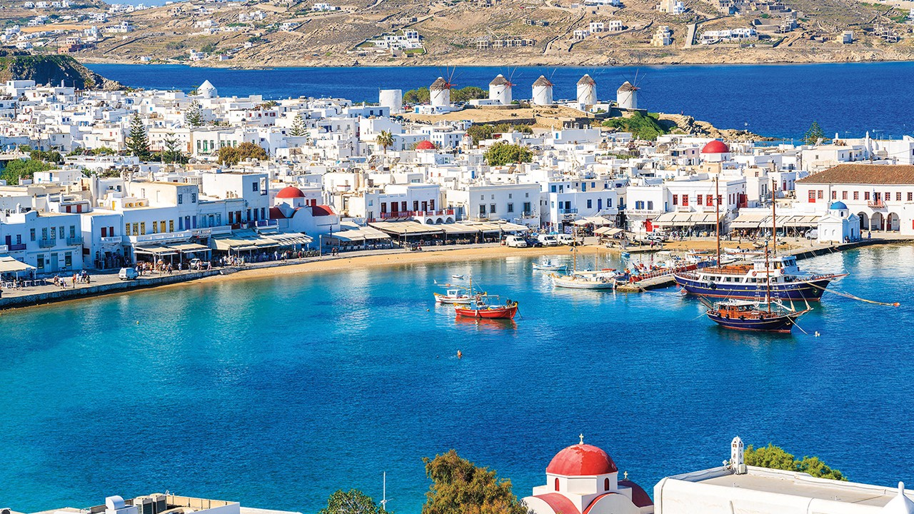 Weekly Cruise From Mykonos