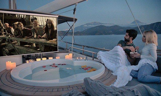 Yacht Entertainment Facilities