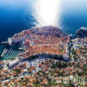 Dubrovnik Bird Eye