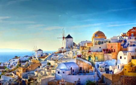 Greek Island Santorini
