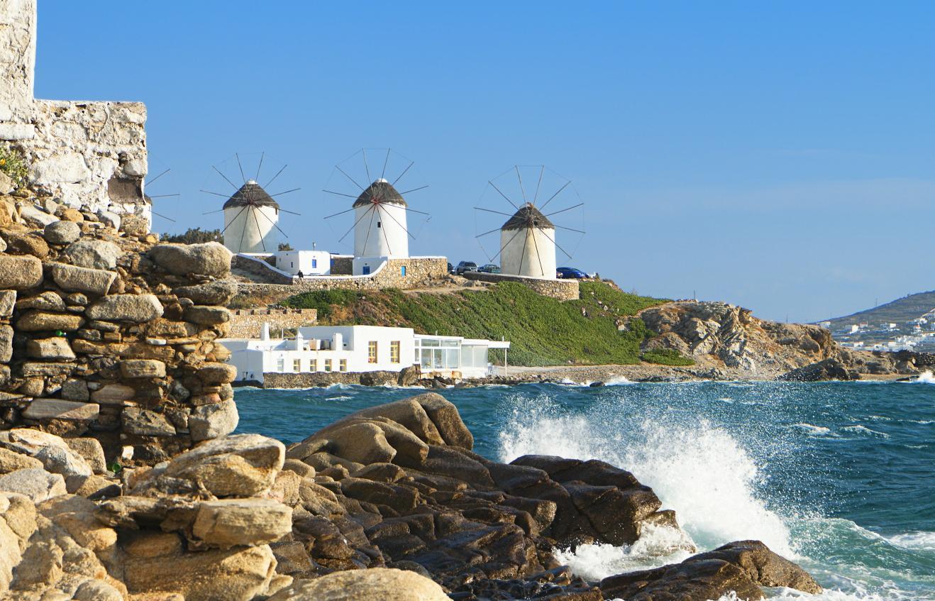 Mikanos Greek Islands
