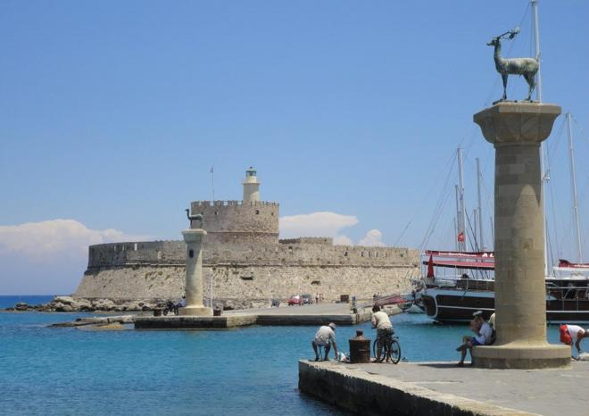 Rhodes Greek Island