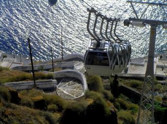 Santorini Cable Car