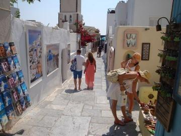 Shop In Santorini