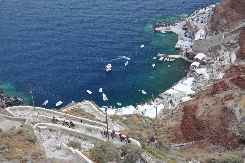 Ammoudi Harbour Santorini