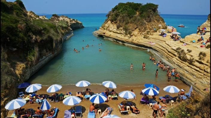 Corfu Island Sidari