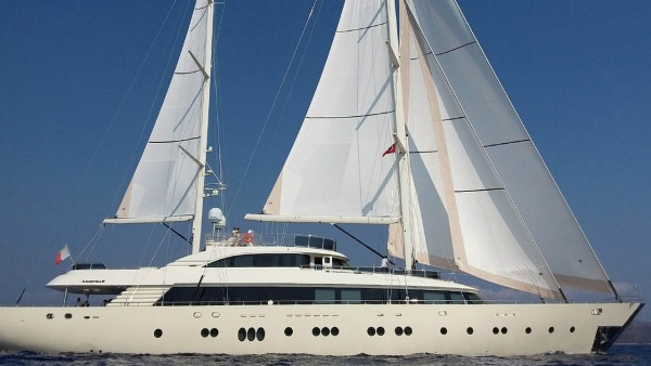 Sailing Yacht Aresteas