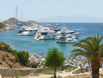 Motor Yachts In Mykonos