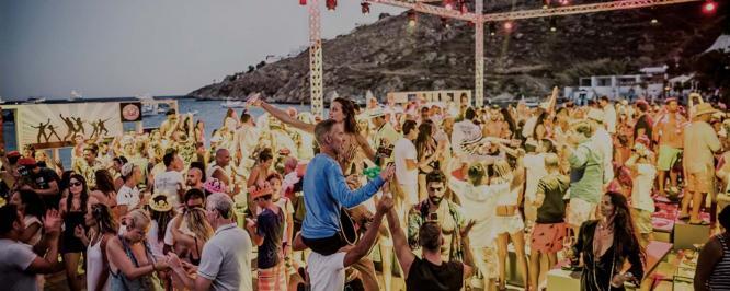 Mykonos Beach Party
