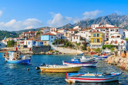 Samos Greek Island