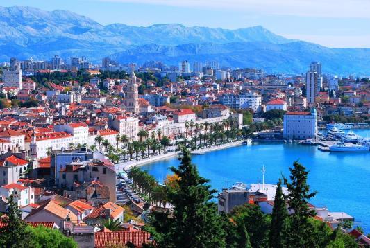 Split Ctiy Croatia