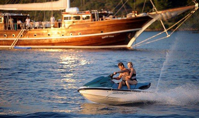 Water Sports on Yacht Charters