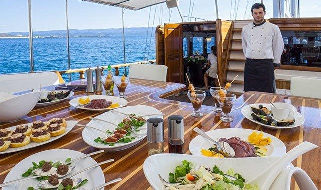 Yacht Catering