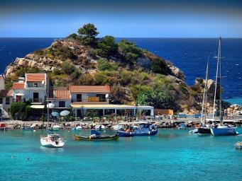 Yachts In Kokkari Samos